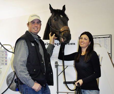 Pat and Amie Grohl of Premier Equine Center