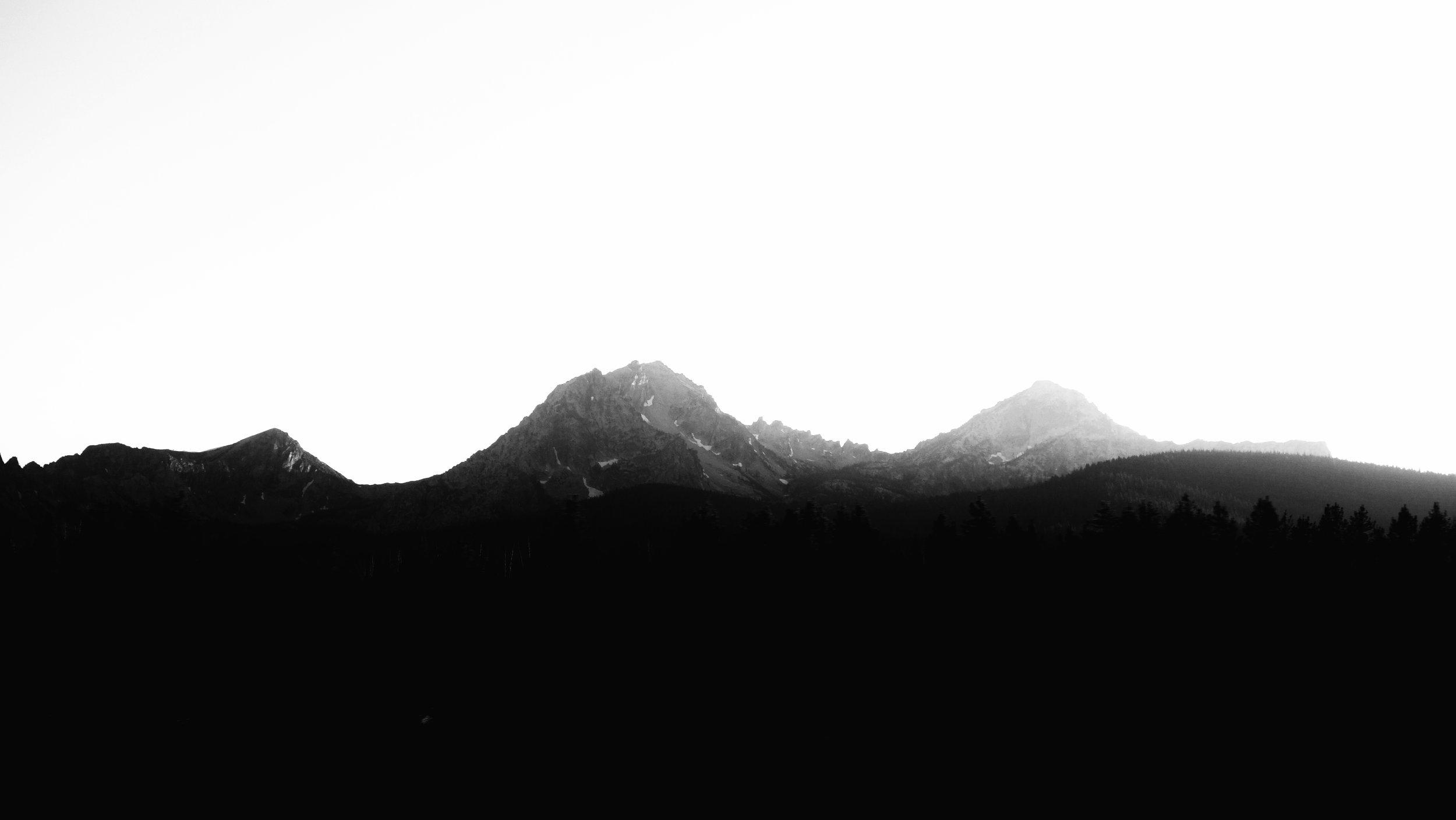 The Sawtooth Wilderness.