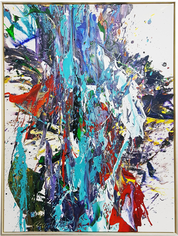 """SP² #23, 2017, acrylic on canvas, 48"""" x 36"""" (121.9 x 61 cm)"""