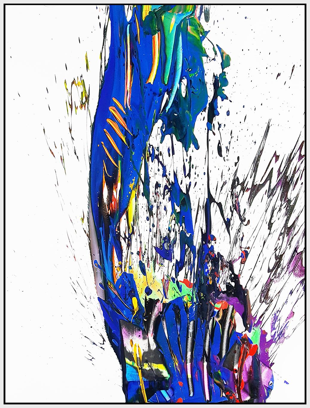 """SP² #49, 2017, acrylic on canvas, 60"""" x 48"""" (152.4 x 122 cm)"""