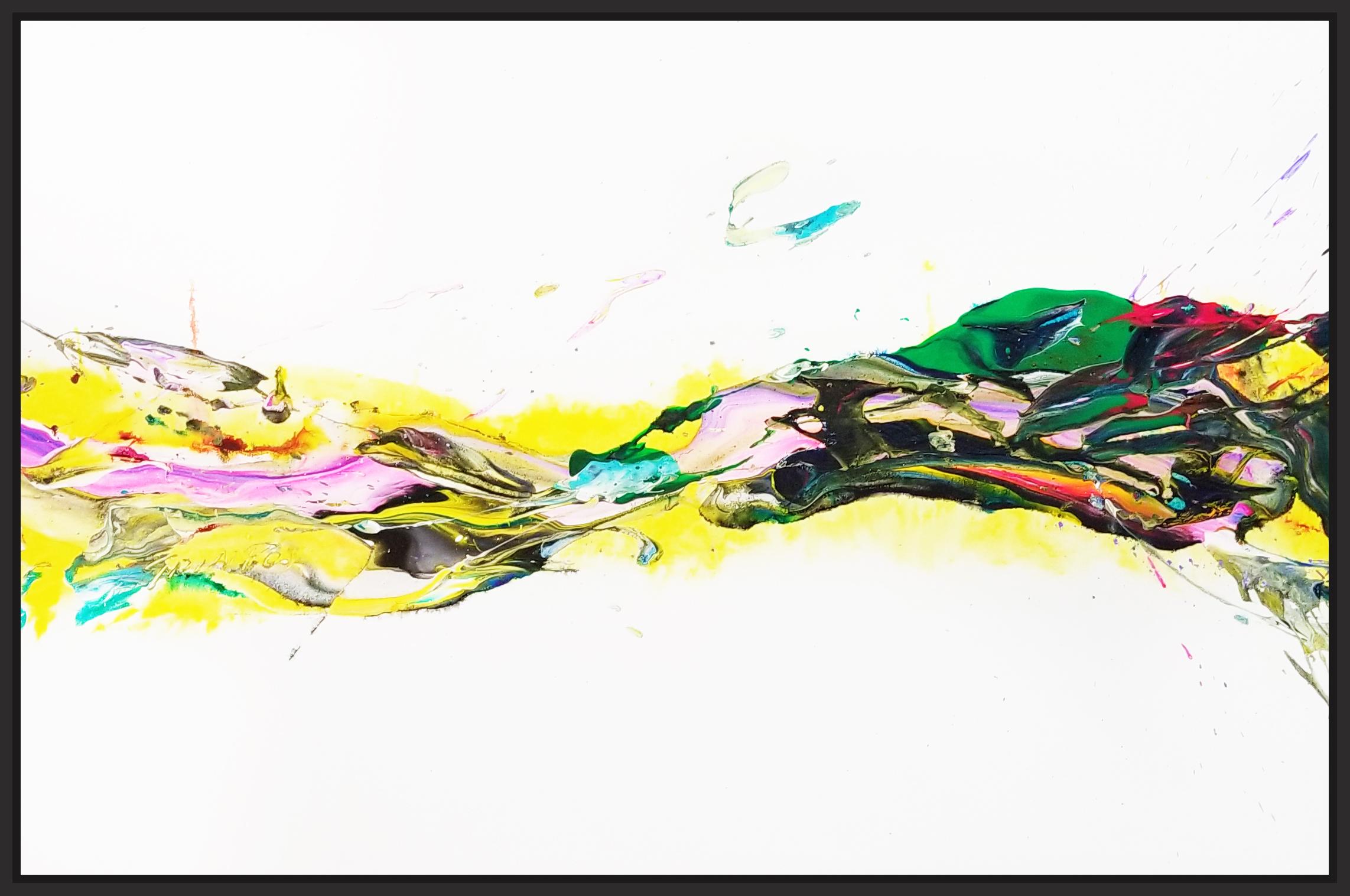 "SP² #69, 2017, acrylic on canvas, 36"" x 54"" (91.4 x 137 cm) in New York, USA"