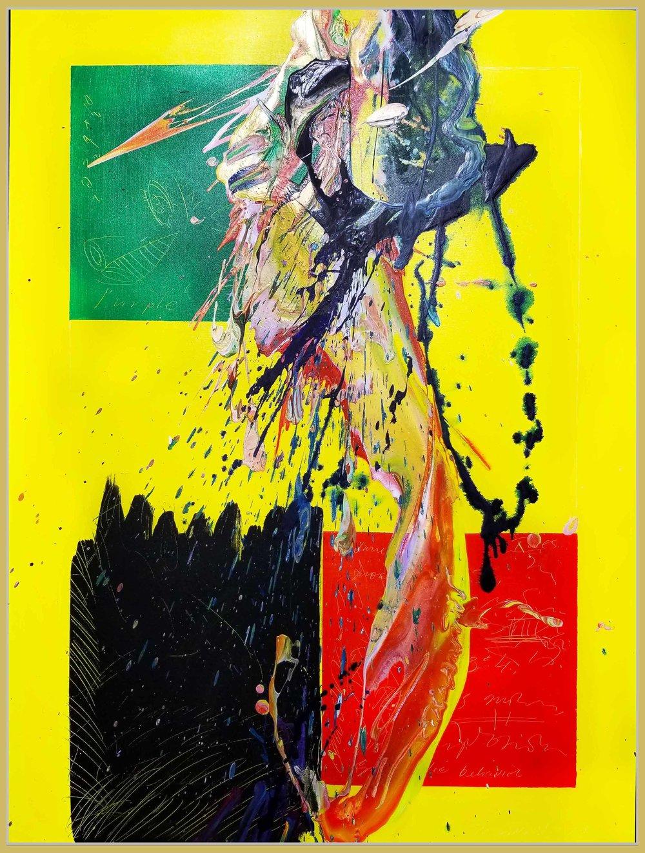 """SP² #84, 2017, acrylic on canvas, 36"""" x 48"""" (61 x 121.9 cm)"""