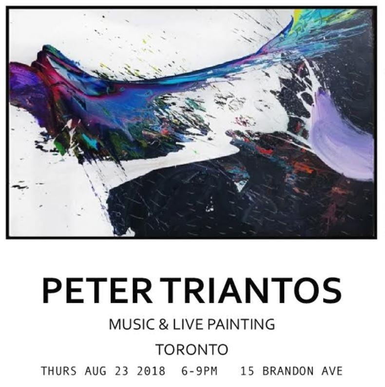 Solo Exhibition, Toronto - August 2018