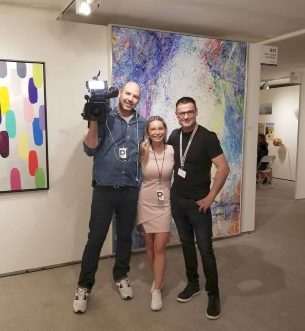 Interview at Scope Basel - June 2018