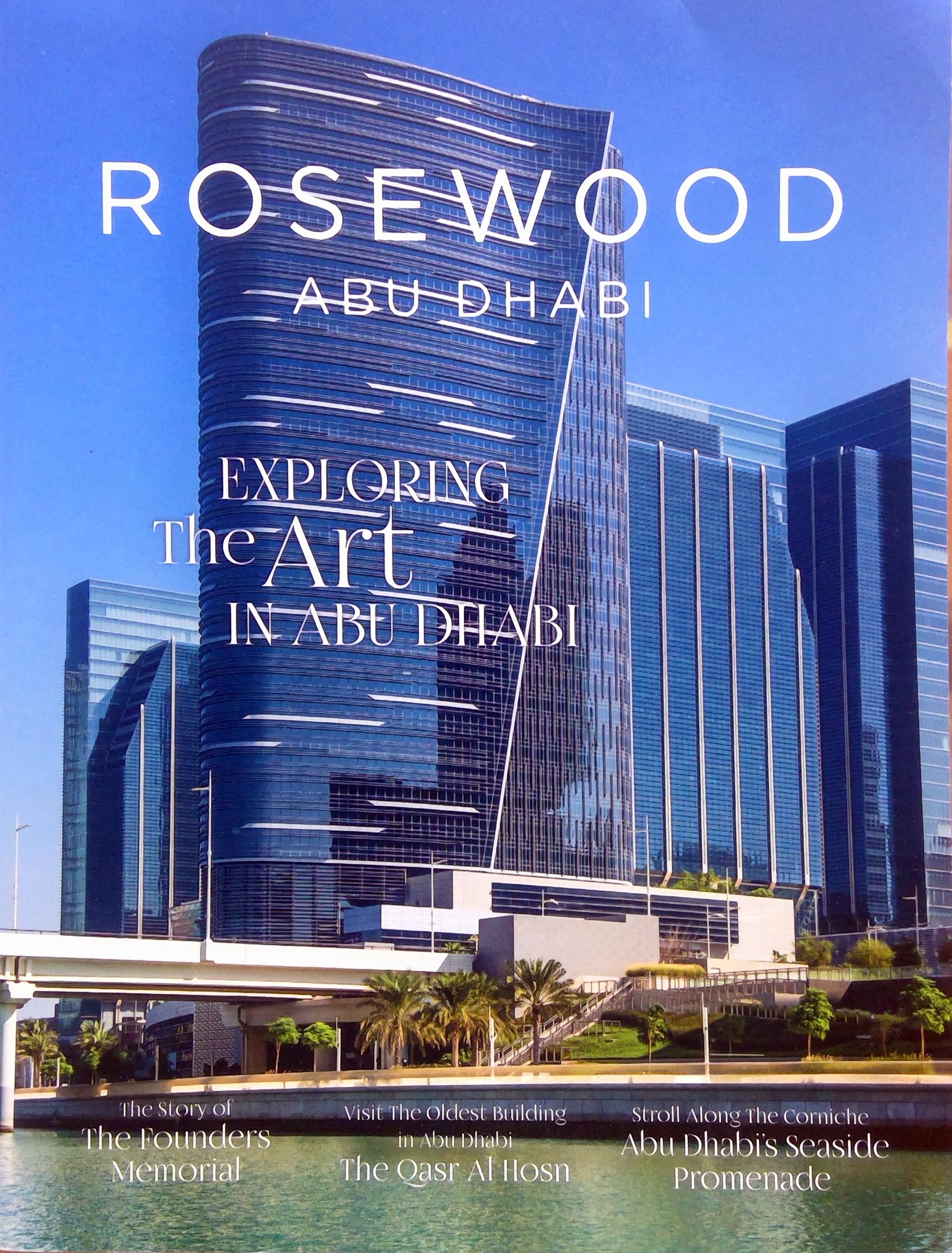 Rosewood Abu Dhabi - September 2018