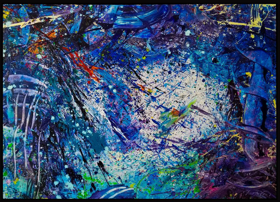 "Napa Valley#16, 2019, acrylic on canvas, 60"" x 84"" (152.4 x 213.36 cm)"