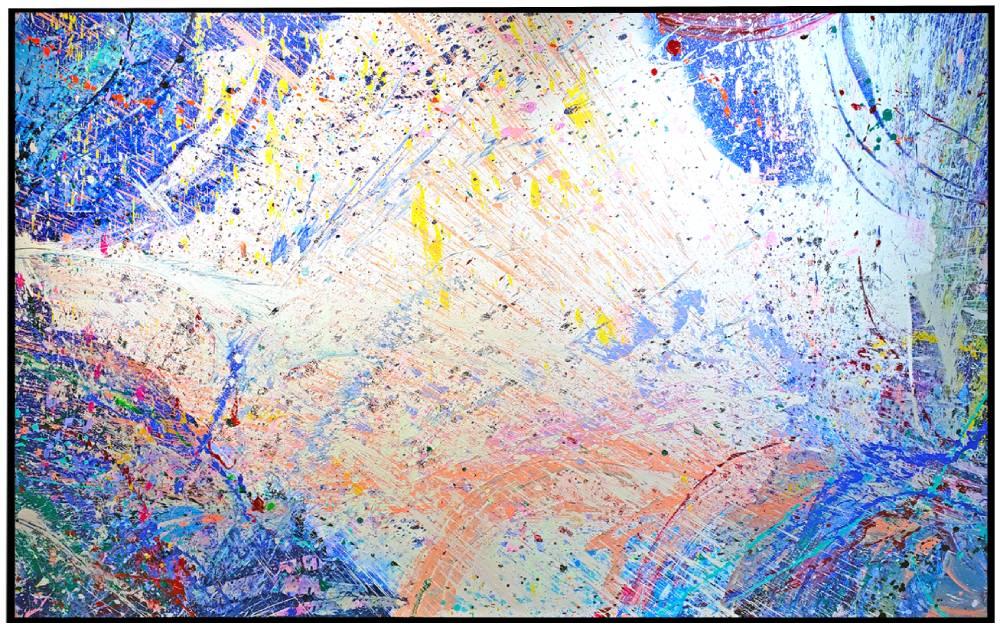 "Napa Valley #79, 2019, acrylic on canvas, 60"" x 96"" (152.4 x 244 cm)"