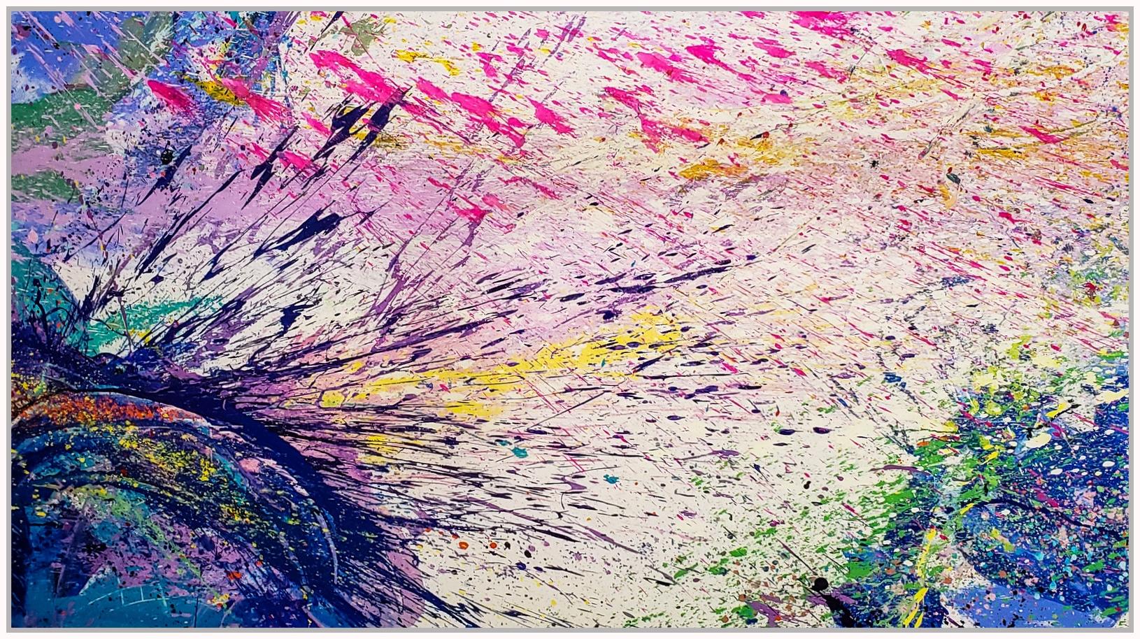 "Napa Valley #82, 2019, acrylic on canvas, 60"" x 108"" (152.4 x 274 cm)"