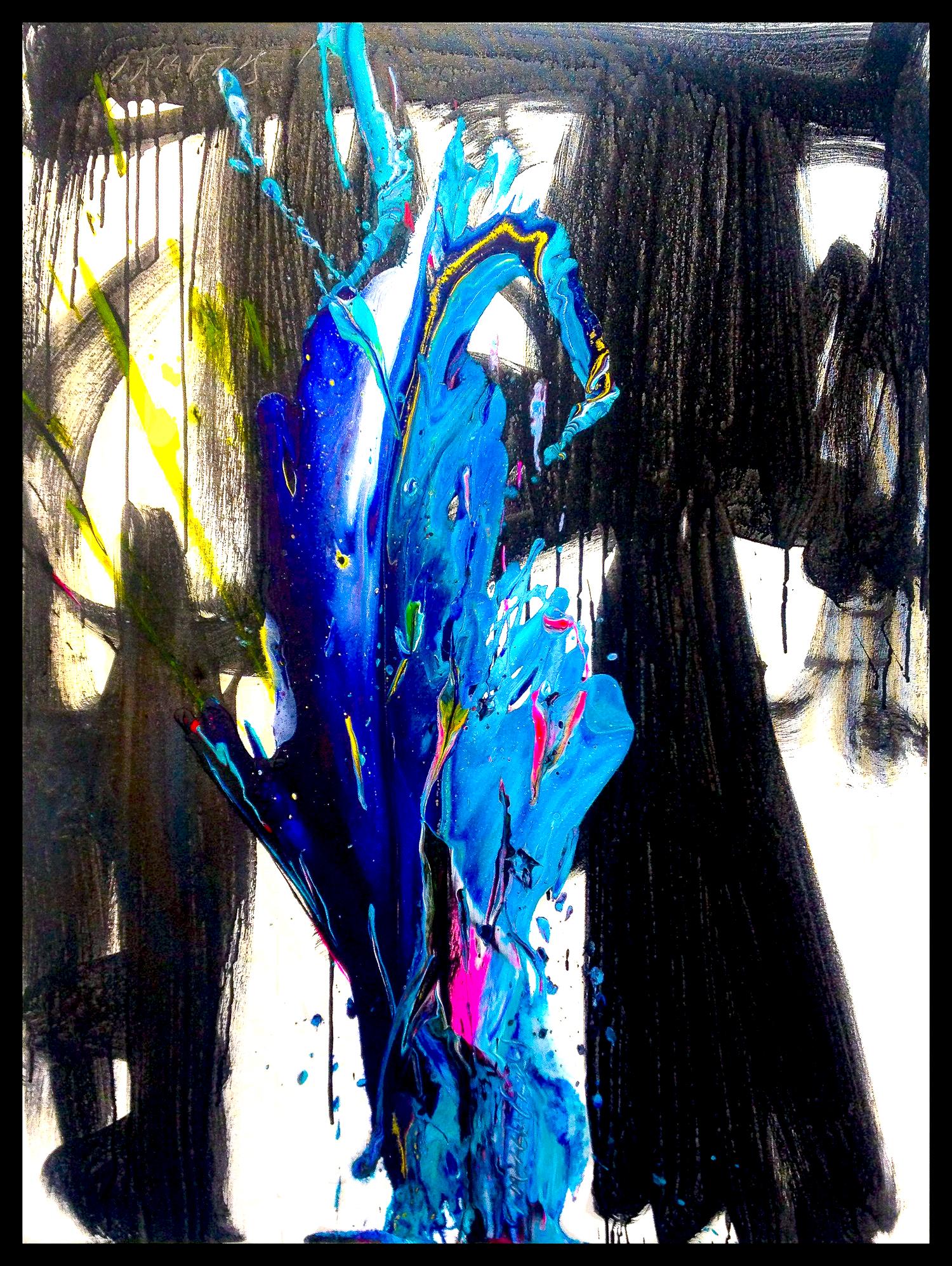 """SP2#132, 2018, acrylic on canvas, 48"""" x 36"""" (122 x 91.4 cm)"""