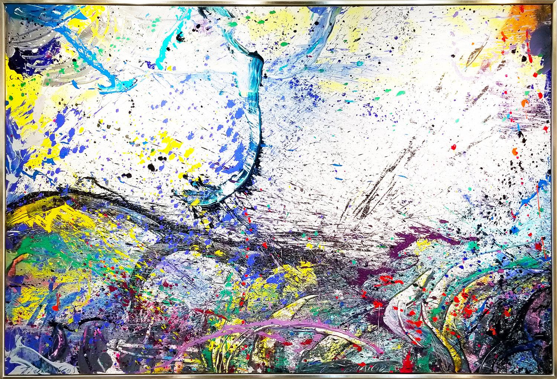 "Napa Valley#25, 2018, acrylic on canvas, 72"" x 108"" (183 x 274.4 cm) in Palm Beach, Florida, USA"