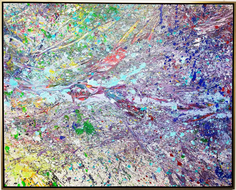 "Napa Valley #59, 2018, acrylic on canvas, 48"" x 60"" (122 x 152.4 cm)"