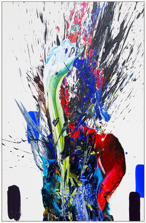 """SP² #87, 2018, acrylic on canvas, 48"""" x 72"""" (122 x 183 cm)"""