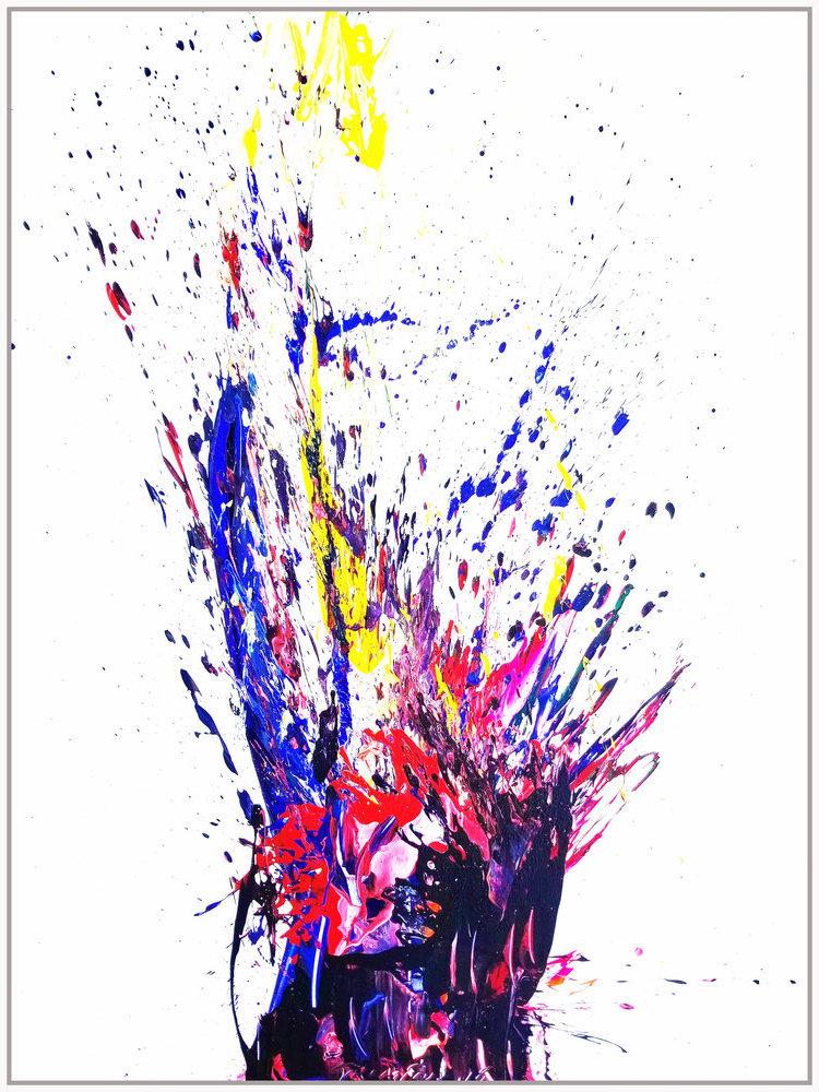 """SP² #82, 2018, acrylic on canvas, 72"""" x 96"""" (183 x 244 cm)"""