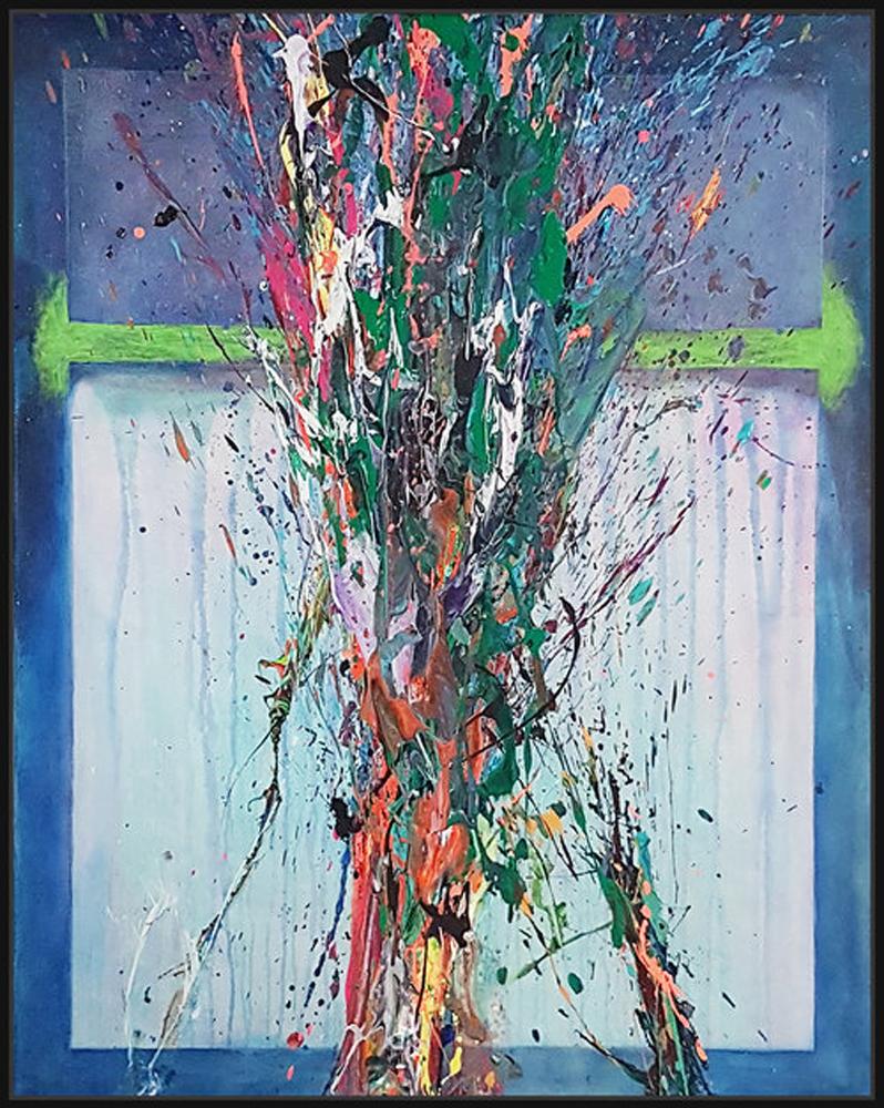 """SP² #52, 2017, acrylic on canvas, 60"""" x 48"""" (152.4 x 122 cm)"""