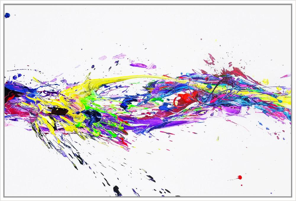 """SP² #89, 2018, acrylic on canvas, 48"""" x 72"""" (122 x 183 cm)"""
