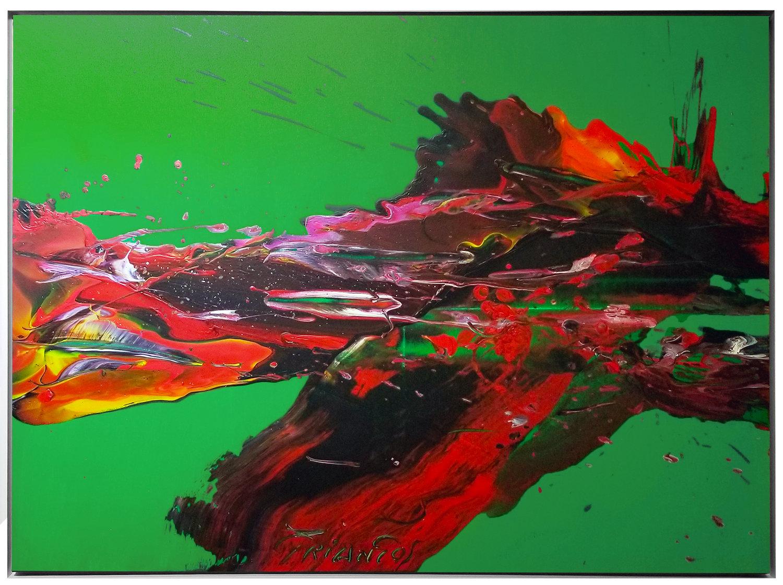 """SP²#127, 2018, acrylic on canvas, 36"""" x 48"""" ( 91.4 cm x 12)"""