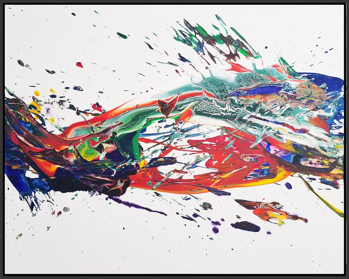 """SP² #120, 2018, acrylic on canvas, 48"""" x 60"""" (121 x 152.4 cm)"""