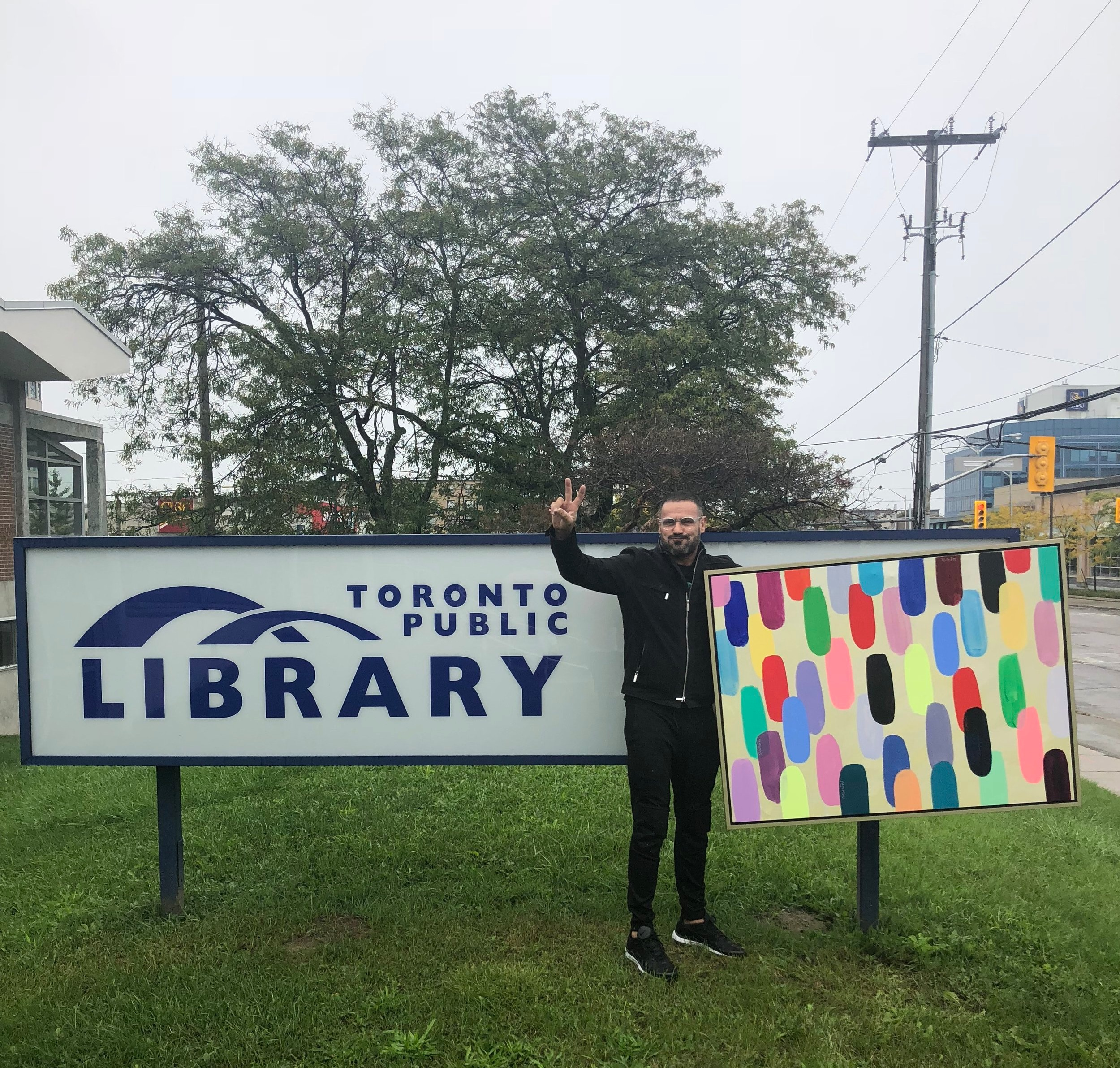 Exhibition at Public Library in Don Mills