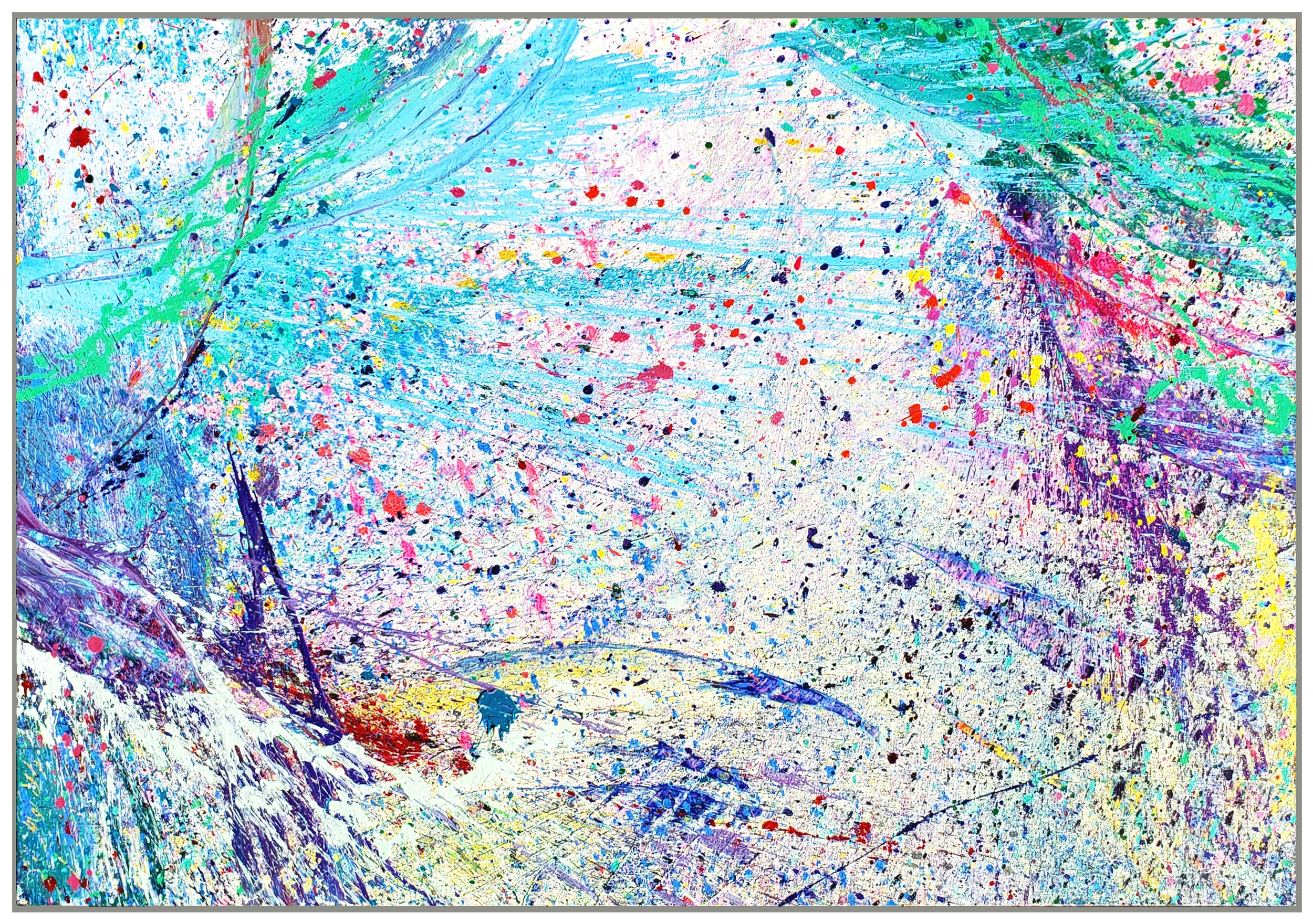 "Napa Valley #94, 2019, acrylic on canvas, 60"" x 84"""