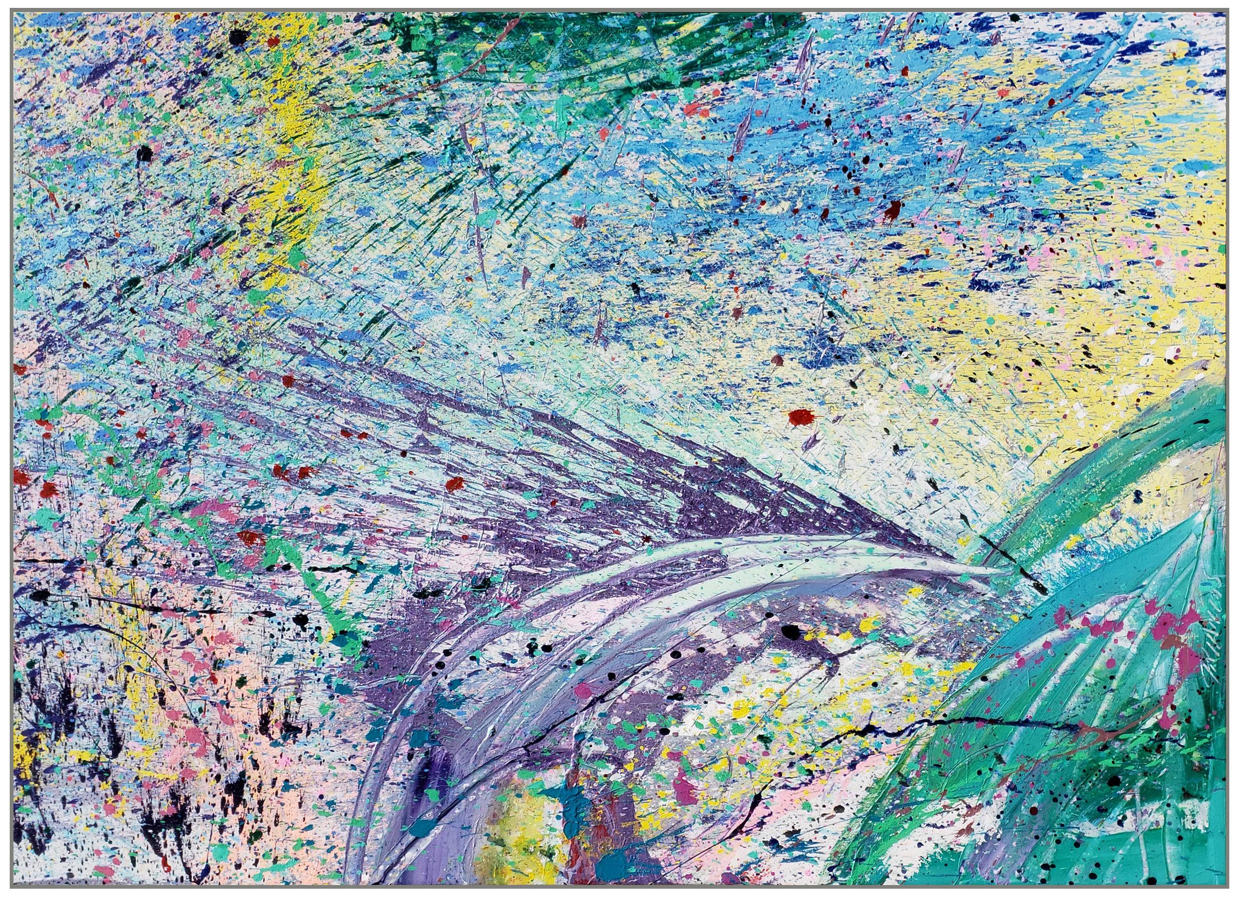 "Napa Valley #97, 2019, acrylic on canvas, 60"" x 84"""
