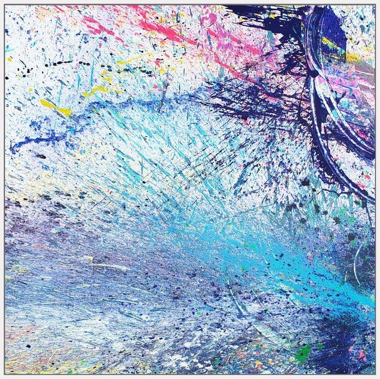 "Napa Valley#98, 2019, acrylic on canvas, 72"" x 72"""