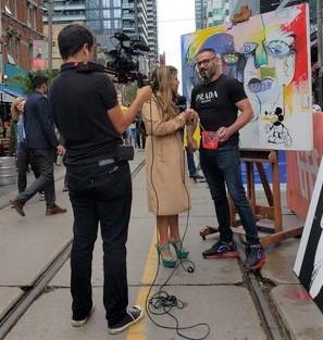 SpotlighTV Interview at TIFF