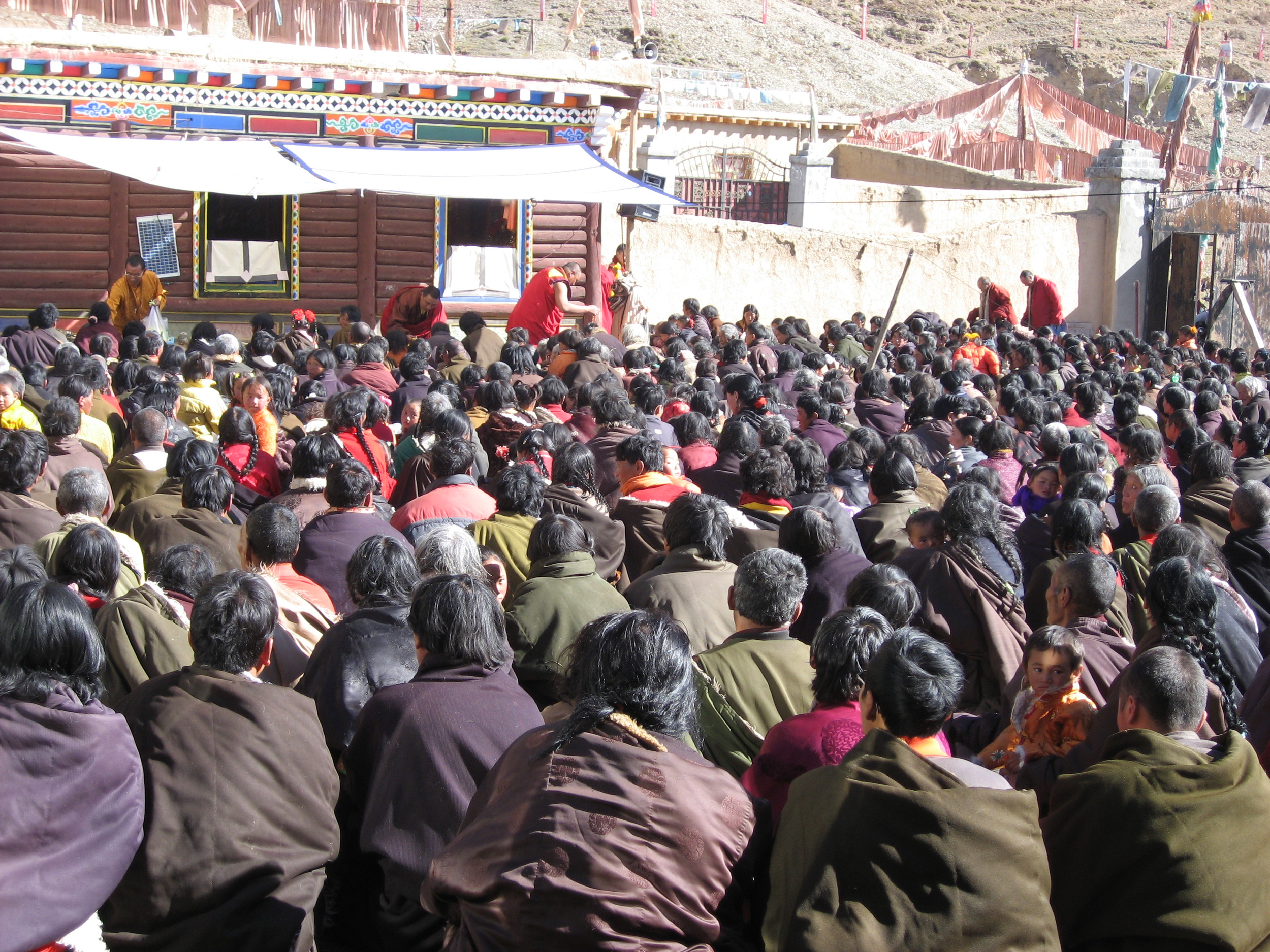 Tibetan Villagers and Nomads