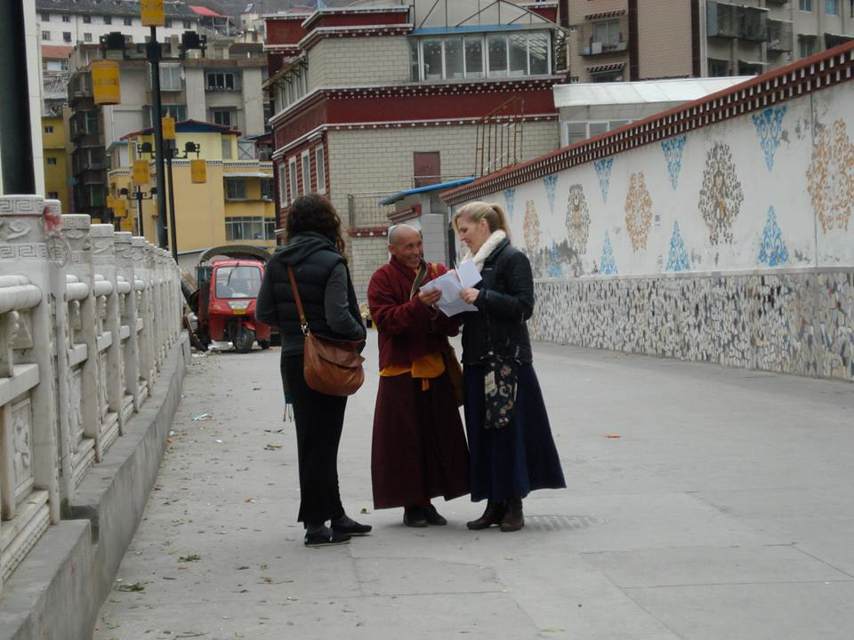 Getting directions in Tibet
