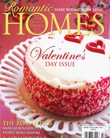 ROMANTIC HOMES  FEBRUARY 2009