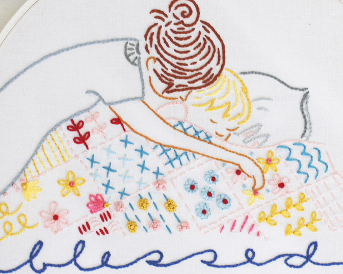 SARAH JANE • EMBROIDERY PATTERN