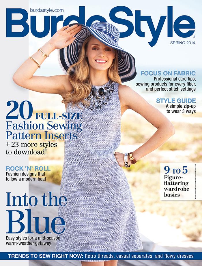burda spring 2014 cover
