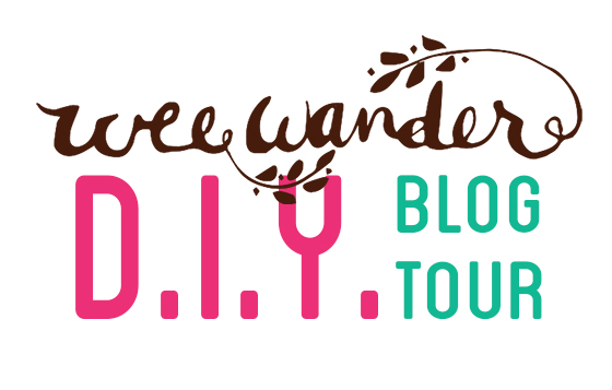 wee wander blog tour logo blog