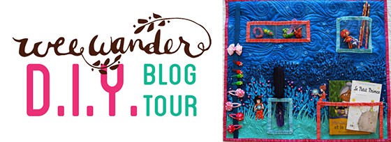 wee wander blog tour.bedroom organizer