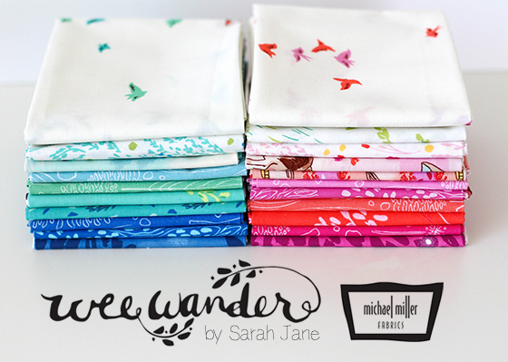 wee wander fat quarter bundles