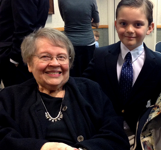 grandma and ian small