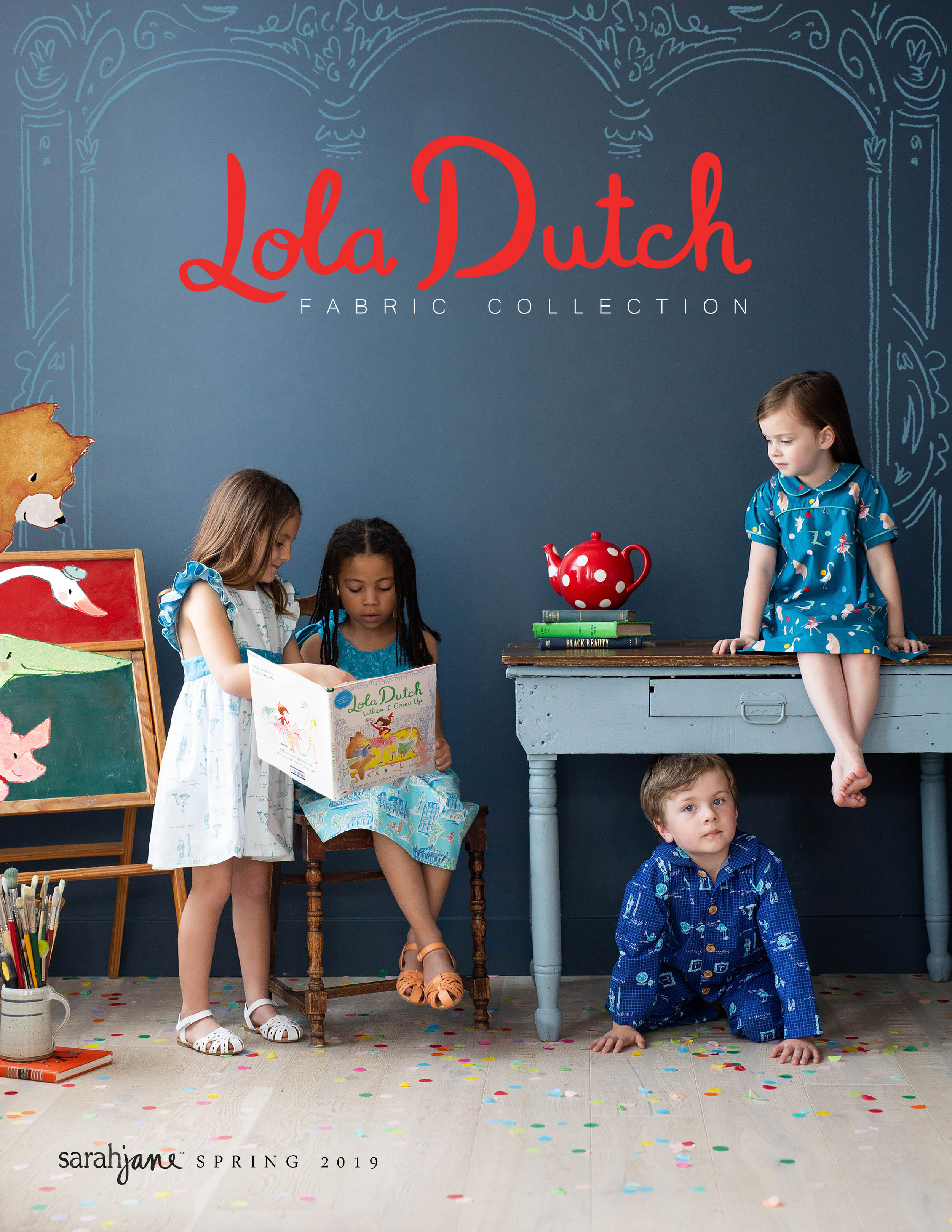 Lola Dutch Fabric Collection