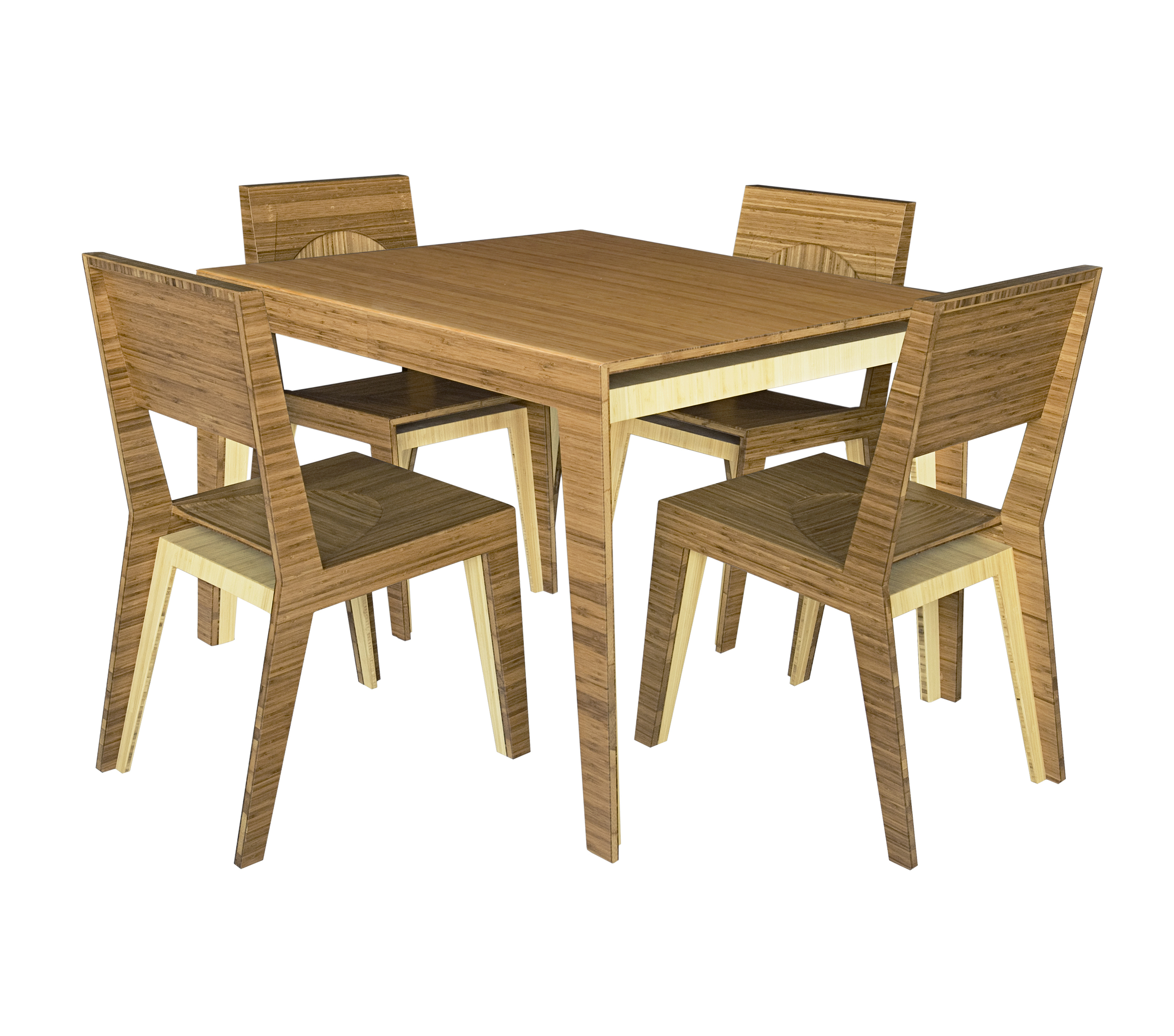 Hollow Dining Table 4 Person Brave
