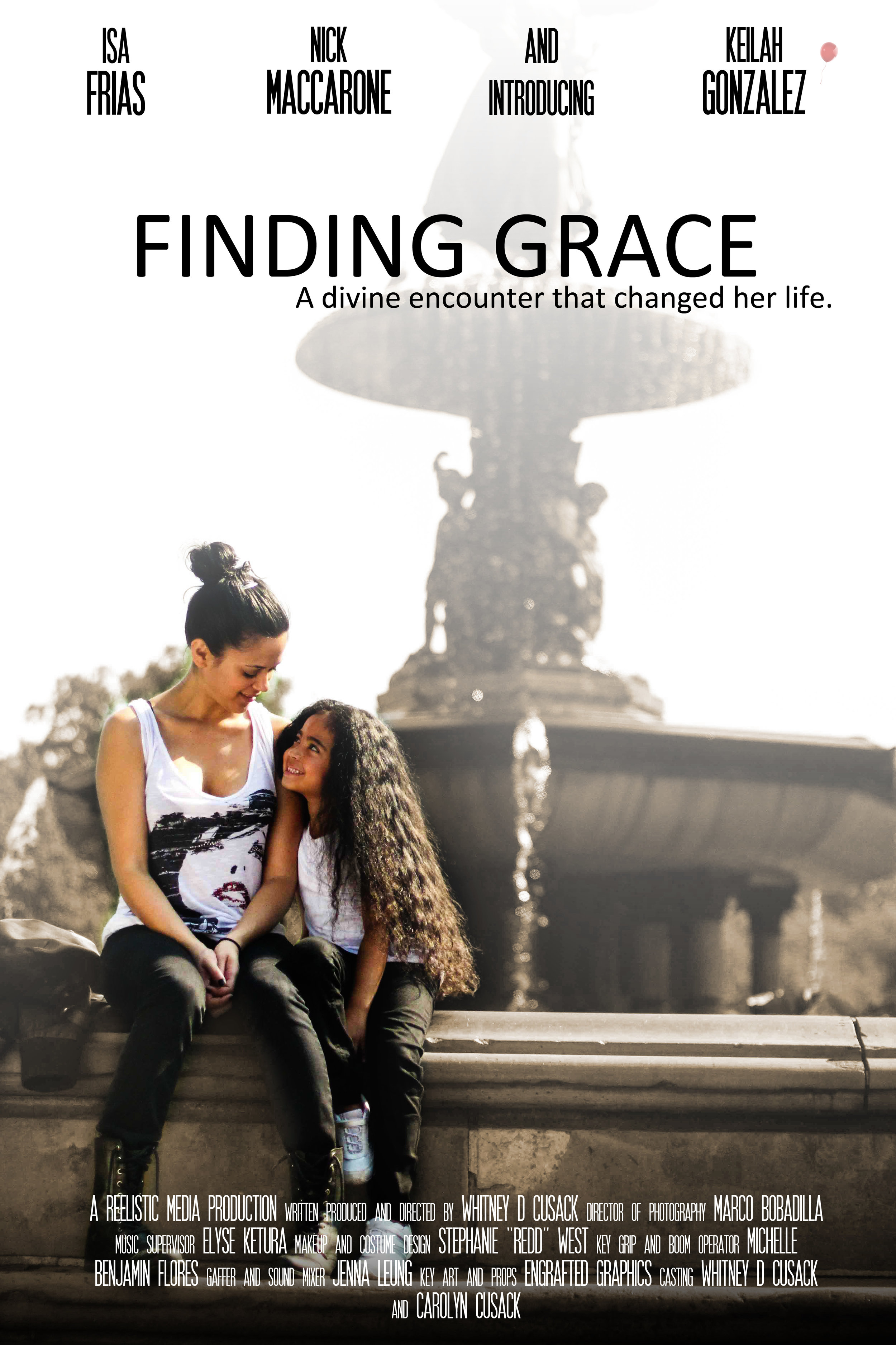 Finding Grace (2014 - Short)   WRITER, DIRECTOR  Now Available on:  Vimeo
