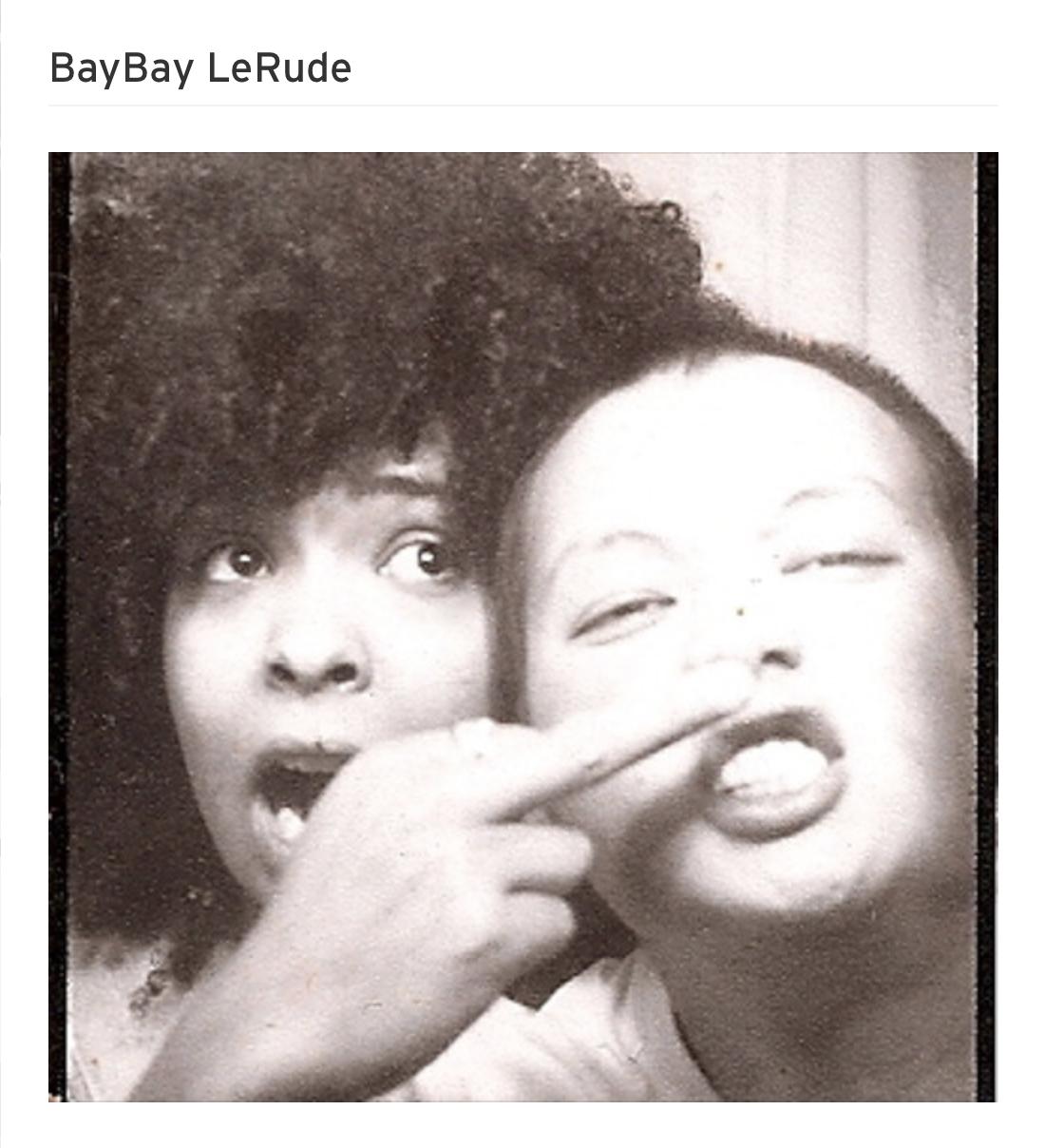 Hear the music here! BabyBay LeRude!