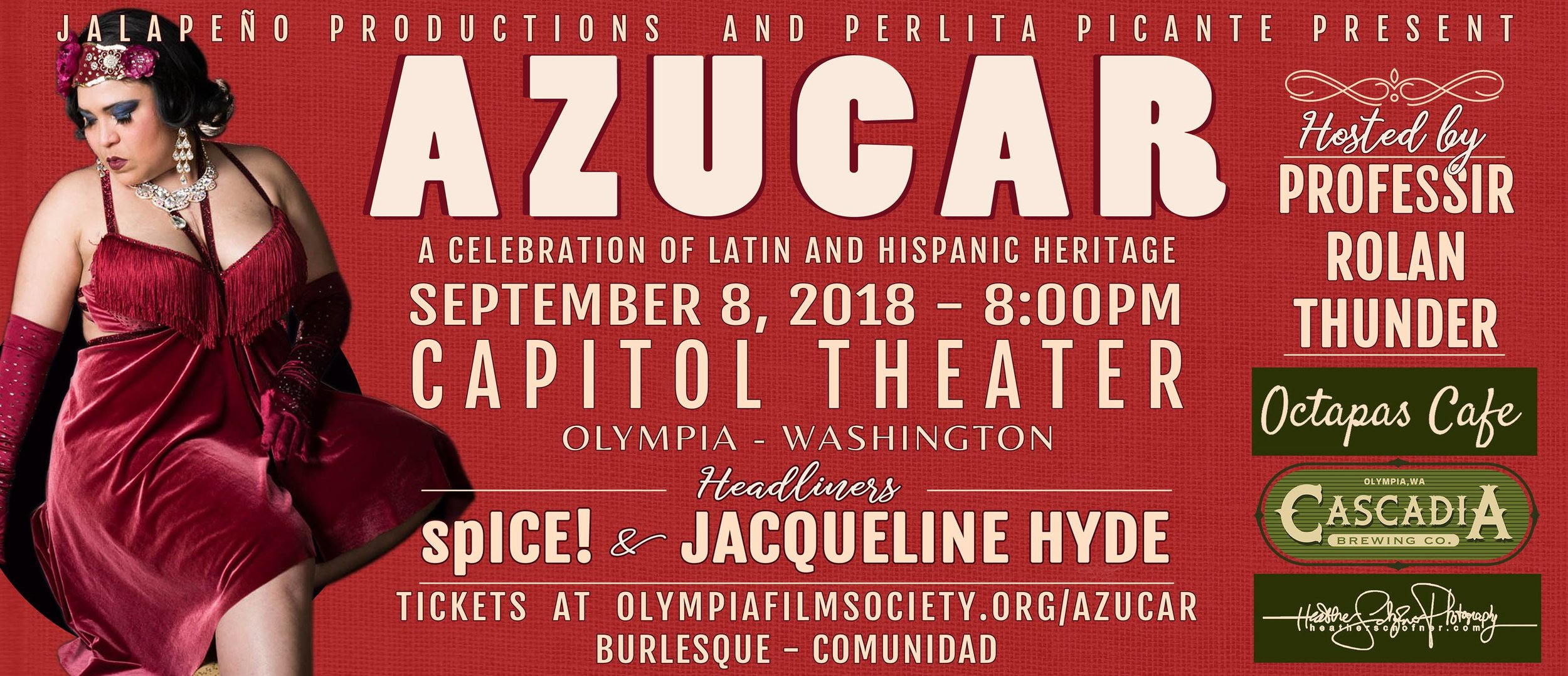 Click the photo to learn more about the event sponsoring this episode, Azucar: A Celebration of Latin And Hispanic Heritage