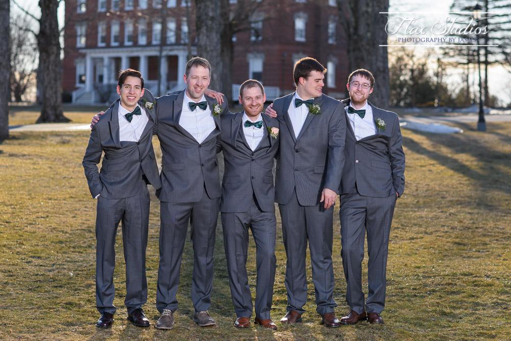Groomsmen Bangor Maine Wedding