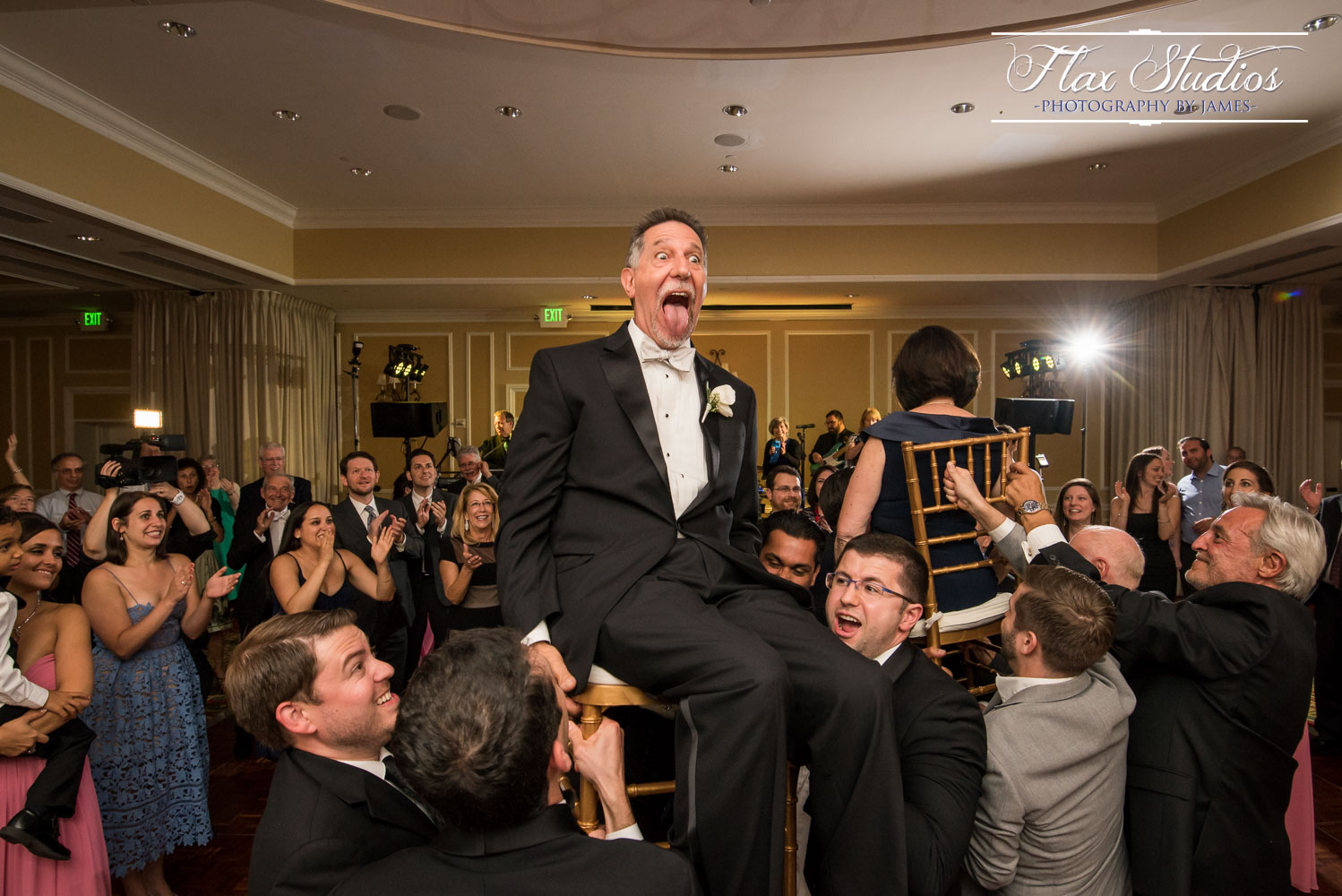 Possibly the best face during a Hora EVER! haha!