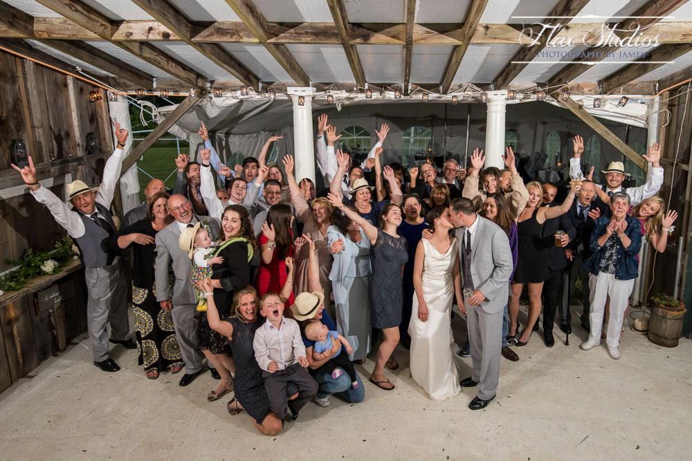 Group Wedding Photo Mount-N-Sea Inn