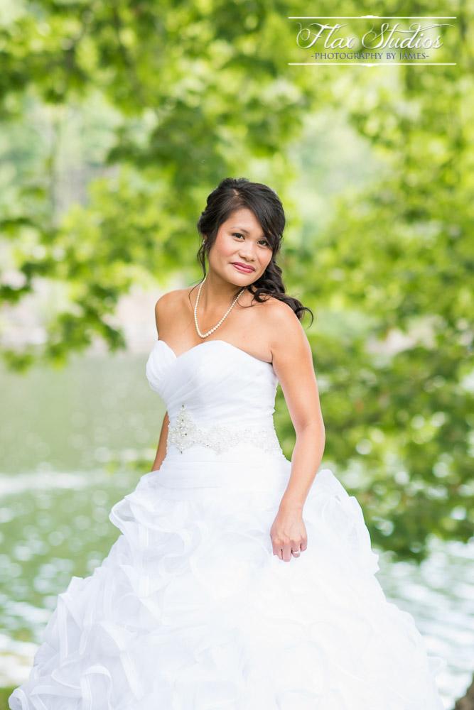 Bridal Portrait Flax Studios