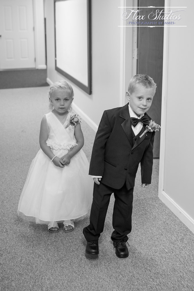 Kids Getting Ready For Wedding