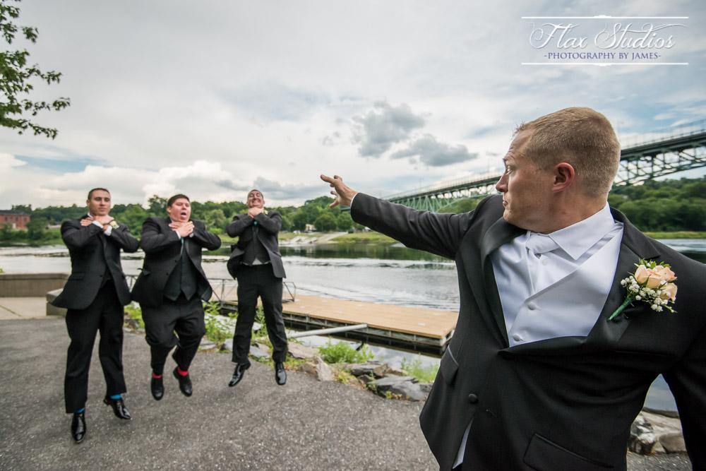 Star Wars Force Grip Wedding Photo Flax Studios