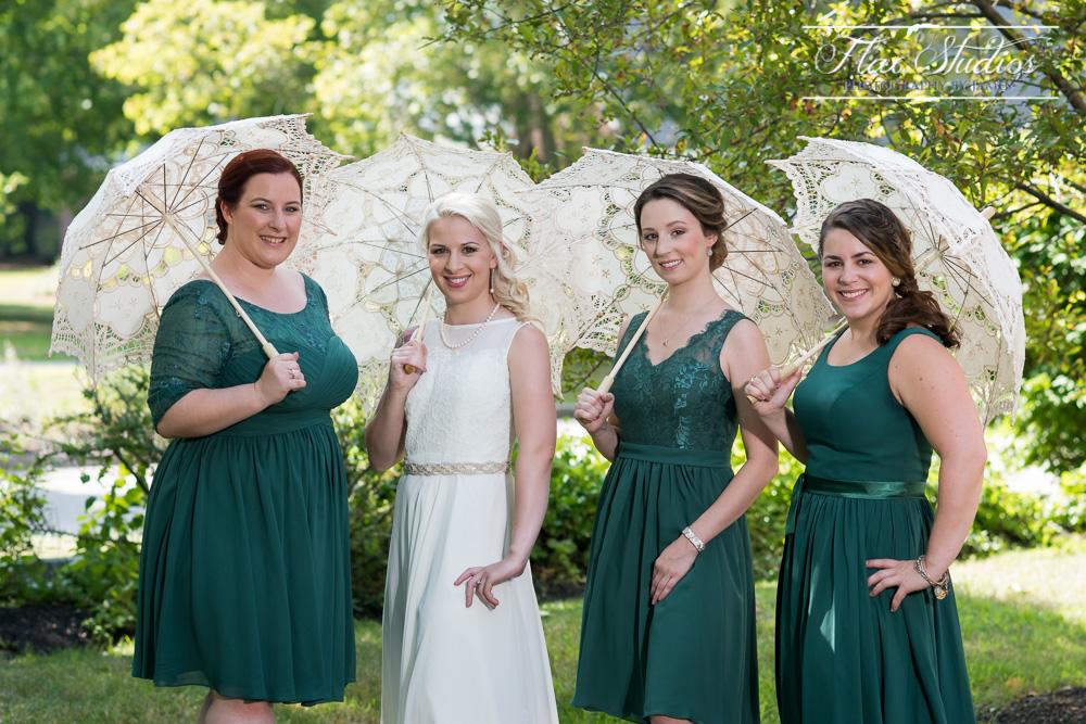 Wedding Parasols Flax Studios
