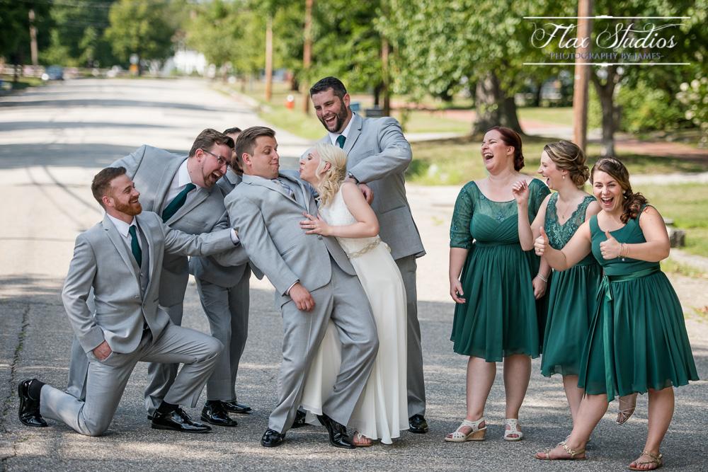 Goofy Bridal Party Photos