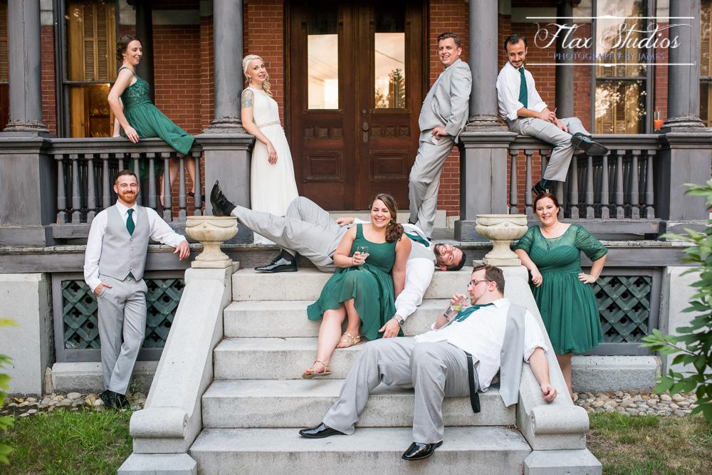 Hilarious wedding photos Flax Studios