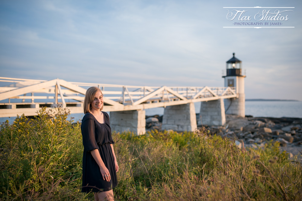 Senior portrait lighthouse ideas
